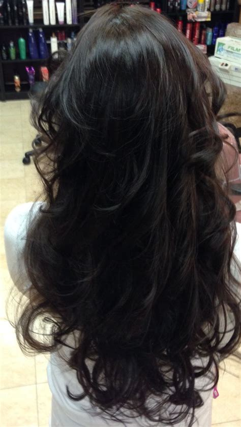 5n hair color layers with paul mitchell xg 5n demi permanent color