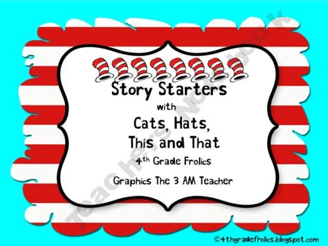 Writing Story Starters Anchor Chart