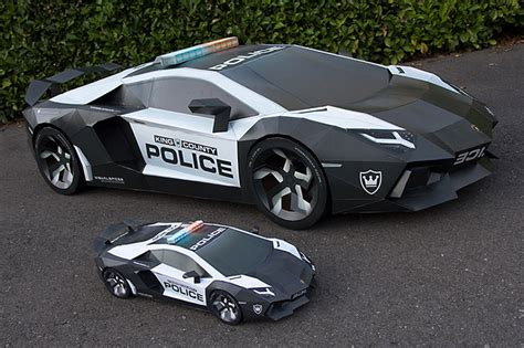 lamborghini life size life size lamborghini aventador is crafted entirely out of