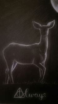 Harry Potter Always doe Severus Snape patronus deer