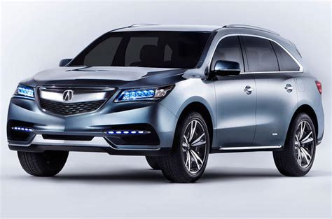 2014 Mdx Review by 2014 Acura Mdx Concept And Review Automotive Cars