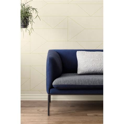 woven  white  gold walllpaper lines collection