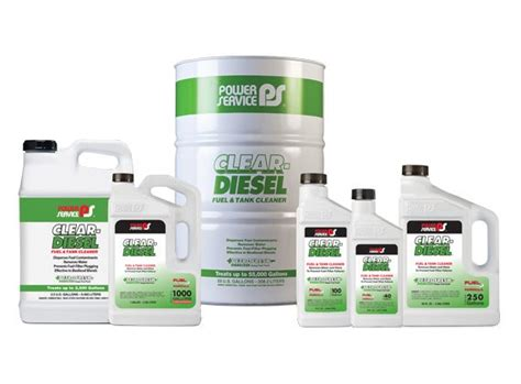 Good Boat Cleaner by Clear Diesel Fuel Tank Cleaner Power Service