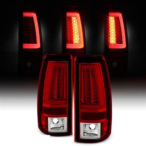 02 silverado tail lights spyder 99 02 chevy silverado gmc sierra v2 led tail