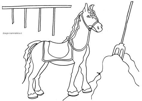 cavalli da colorare per bambini piccoli disegni di cavalli da stare e colorare per bambini