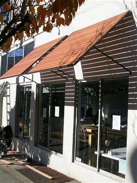 thaihouse express wood slats awnings  windows outdoor window awnings diy awning bahama