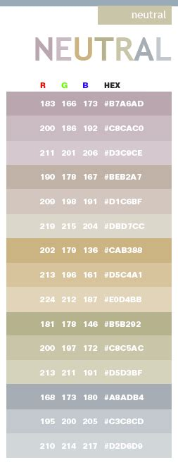 1000+ Ideas About Neutral Color Scheme On Pinterest