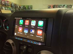 This Week In The Shop - Custom Jeep Wrangler Subwoofer And Pioneer Avh-4100nex