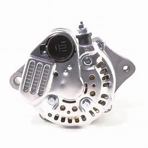 12 Volt Small Alternator With 40 Amp Negative Ground  3