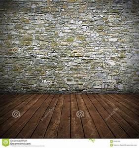 Mur En Pierre Interieur : int rieur vide avec le mur en pierre photo libre de droits ~ Dailycaller-alerts.com Idées de Décoration