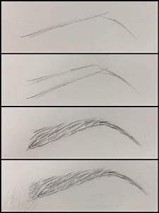 Eyebrow drawing tutorial | Art | Pinterest | Drawings