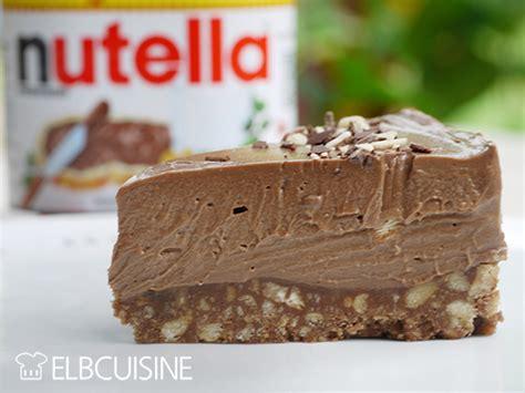 kuchen einfach schnell lecker nutella cheesecake so einfach und so lecker elbcuisineelbcuisine