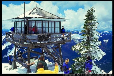 granite mountain hike fire  tower  top