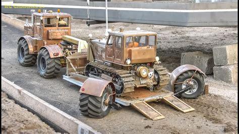 awesome rc trucks excavators mega action youtube