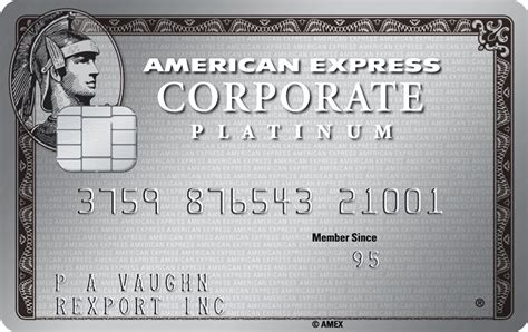 American Express Corporate Platinum Card