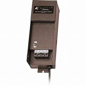 Kichler Manual Series 100-watt Bronze Transformer