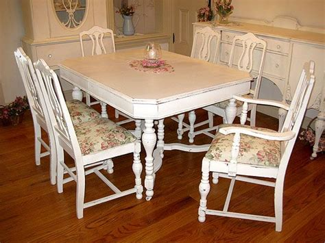 shabby chic table and chairs dining table shabby chic dining table and chairs