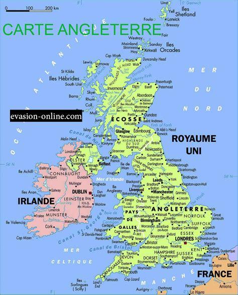 Ville De Carte by Carte Angleterre 187 Vacances Arts Guides Voyages