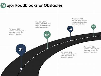 Clipart Road Ppt Powerpoint Presentation Obstacles Roadblocks