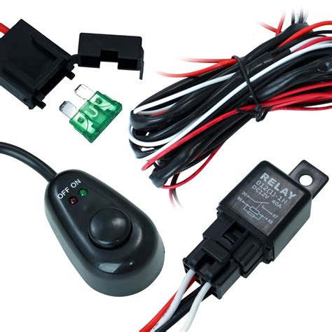 arnes cable switch relay faros barras led jeep 4x4 rzr 250 00 en mercado libre
