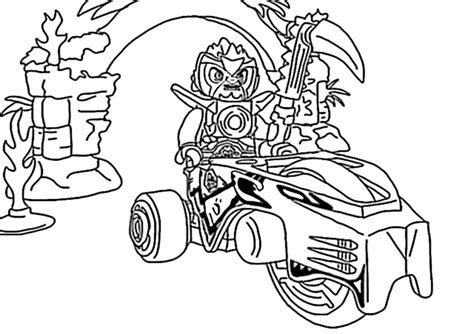 Lego Chima Coloring Page - Costumepartyrun