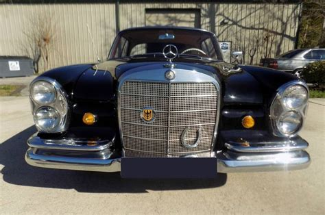 The car is in perfect condition overall and is ready to drive. 1964 Mercedes-Benz 220 Se b Black