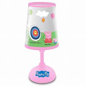 peppa pig night light bedside lamp new official ebay With peppa pig lamp and light shade