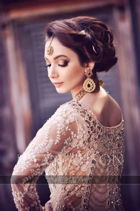latest pakistani bridal wedding hairstyles trends