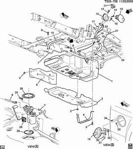 Chevrolet Colorado Hose  Evaporation Emission System  Fuel Tank End   Hose  Evap Emis At
