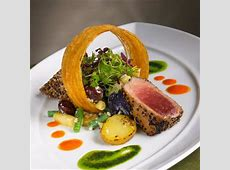 Fine Dining Entrees Cowboy Refined Creative Seafood