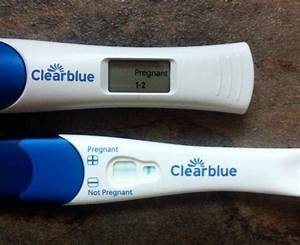 The gallery for --> Clear Blue Positive Pregnancy Test 1 2 ...