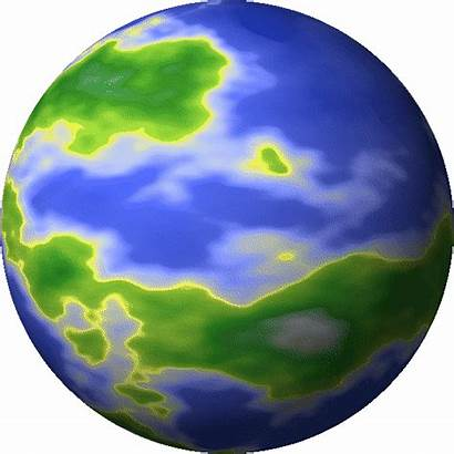 Earth Animated Planet Planets Clipart Animation Gifs