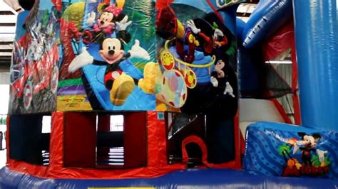 jumper 5in1 mickey mouse 5in1 bounce house combo rental new orleans