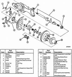 I Have A 1994 Ford F150 4x4 With Automatic Locking Hubs