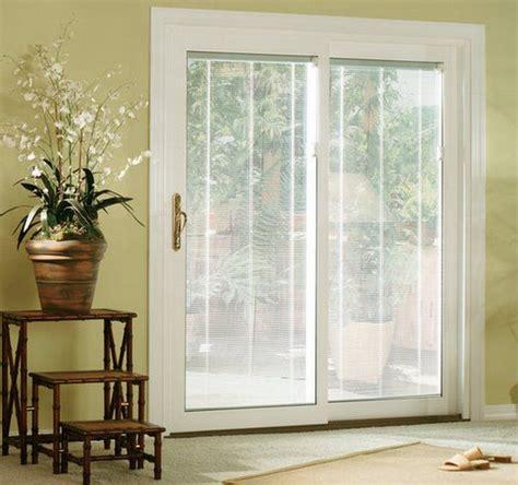 sliding glass doors  blinds   sliding