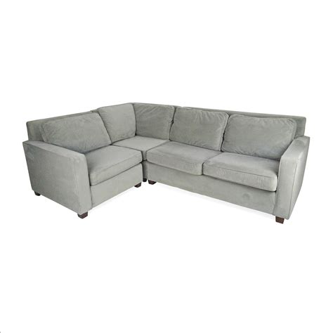 west elm sectional 49 west elm west elm henry 3 sectional sofas