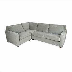 49 off west elm west elm henry 3 piece sectional sofas for Henry sofa sectional west elm