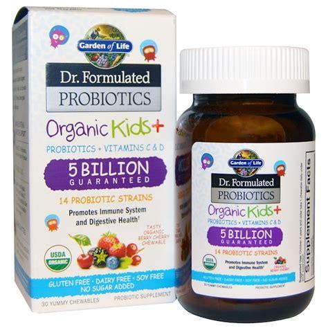 garden of probiotic garden of dr formulated probiotics organic
