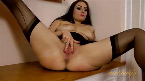 Seamed Stockings Dazzle On A Big Tits Milf Alpha Porno