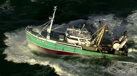 Fishing Boat North Sea by Aerials Of A Fishing Boat On The Dutch North Sea Youtube