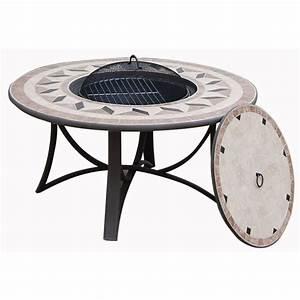 Table Jardin Fer Forgé : salon de jardin table basse ronde 4 chaises filae aspect ~ Dailycaller-alerts.com Idées de Décoration