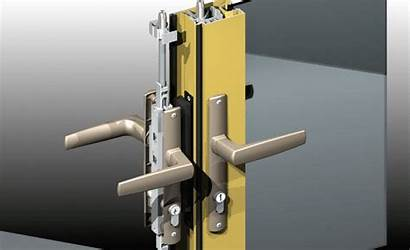 Lock Door Bottom Point Hardware Hinged Dummy