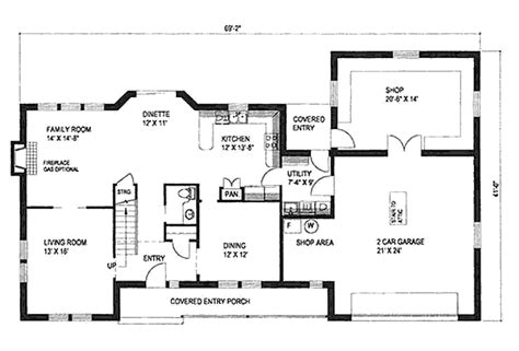 6 Room House Design : Traditional Style House Plan