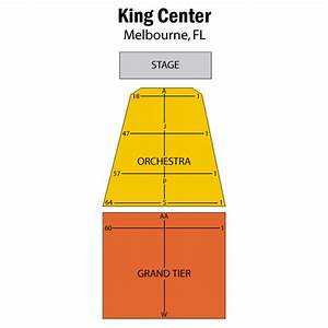 Bandstand Seating Chart Maxwell C King Center For The Performing Arts Melbourne