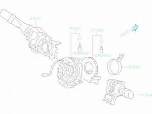 2018 Subaru Impreza Switch Assembly