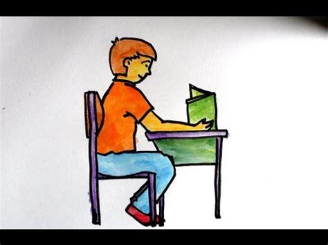 gambar animasi kursi sekolah kumpulan gambar bagus