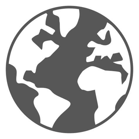 Icono de globo de mapa del mundo Descargar PNG/SVG