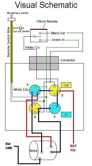 kfi winch contactor wiring diagram 34 wiring diagram
