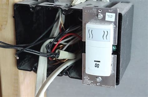humidity sensor switch how to install leviton s humidity sensor home repair tutor 1753