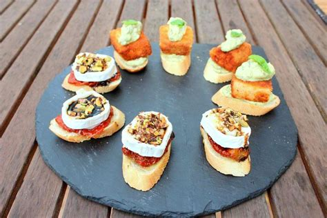 easy canapes pintxos fabuloses delicieux